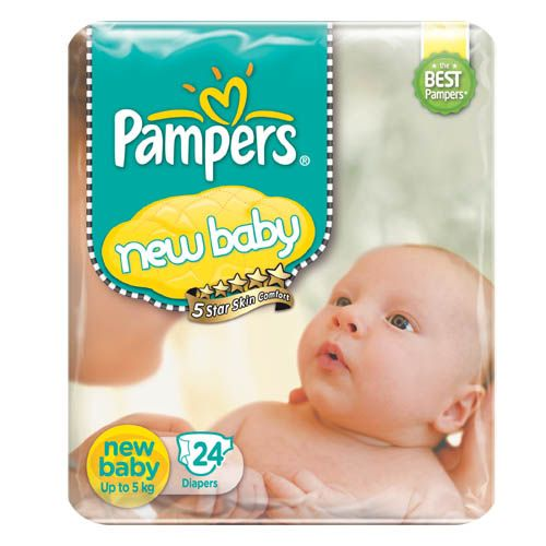 Pampers Active Baby Diaper New Baby