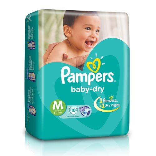 Pampers Baby Dry Diapers Medium