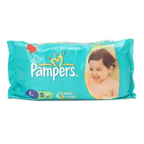 Pampers Disposable Diapers Large 9 and 14 kgs