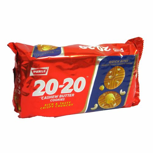 Parle 20 20 Cookies Cashew Butter Cookies