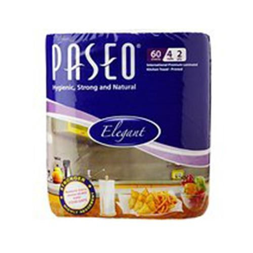 Paseo Kitchen Towel 60s 2 ply Printed Pack of 4