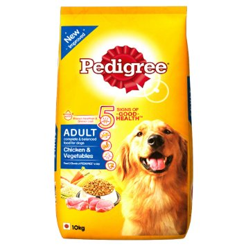 Pedigree Daily Food for Adult Dogs Chicken and Vegetables