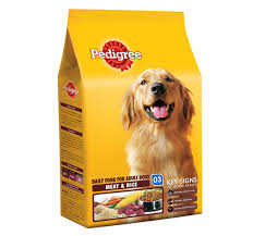 Pedigree Daily Food for Adult Dogs Meat and Rice