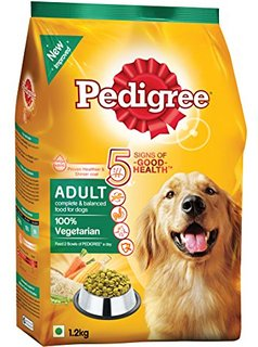 Pedigree Daily Food for Adult Dogs Vegetarian