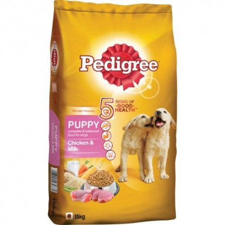 Pedigree Daily Food for Puppy Chicken andMilk