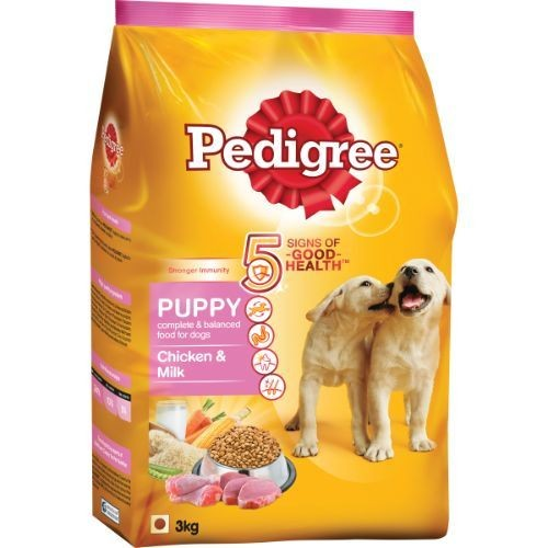 Pedigree Daily Food for Puppy Chicken and Milk
