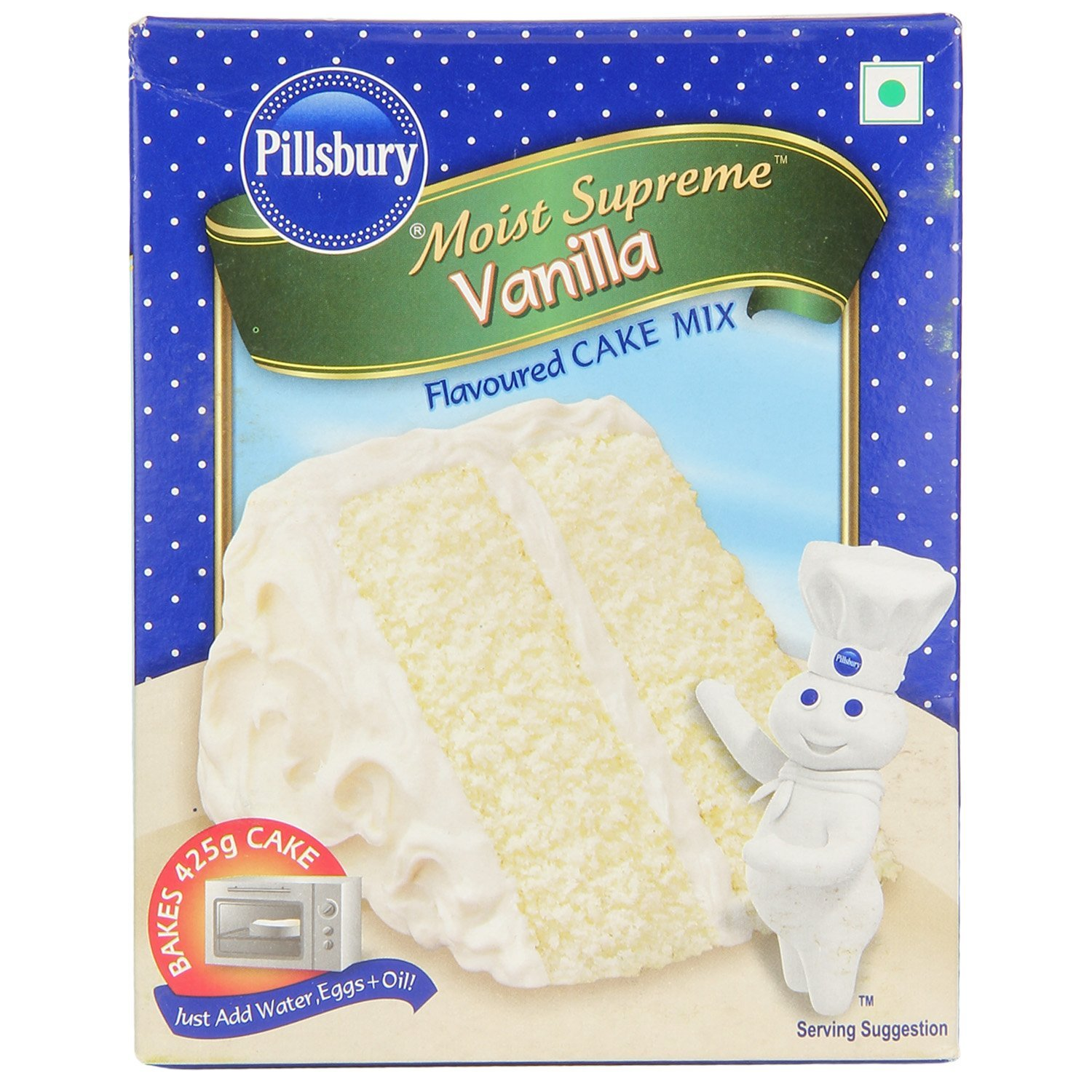 Pillsbury Cake Mix Moist Supreme Vanilla