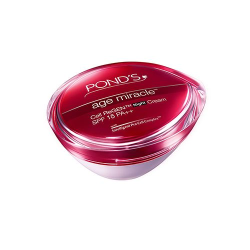 Ponds Age Miracle Cell Regenerating SPF 15 PA Night Cream