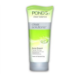 Ponds Clear Solutions Pimple Care Facial Scrub