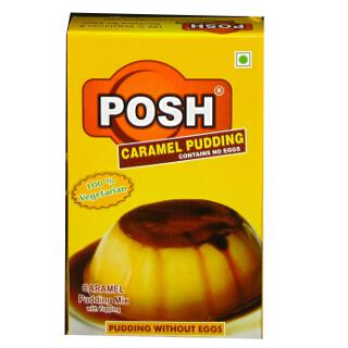 Posh Caramel Pudding Mix