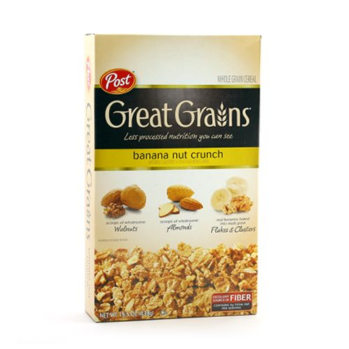 Post Selects Cereal Banana Nuts Crunch Natural Flavor