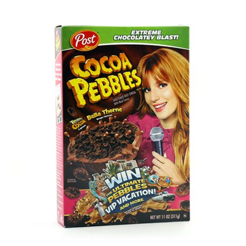 Post Selects Cereal Cocoa Pebbles Sweetened Rice