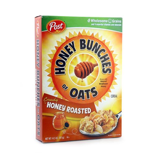 Post Selects Cereal Honey Bunches of Oats Honey Roasted