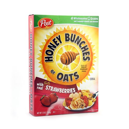 Post Selects Cereal Honey Bunches of Oats Real Strawberries