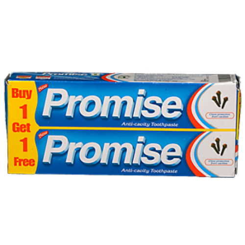 Promise Toothpaste Buy 1 Get 1 Free