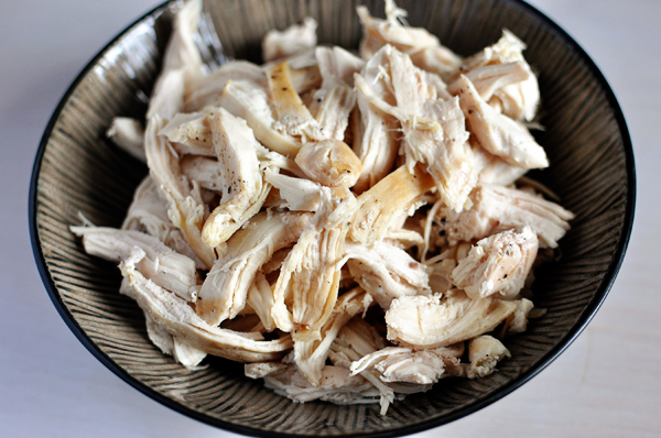 Shredded and Boiled Chicken