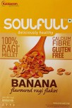 Soulfull Deliciously healthy Banana Flavour 100 Percentage Ragi Cereals
