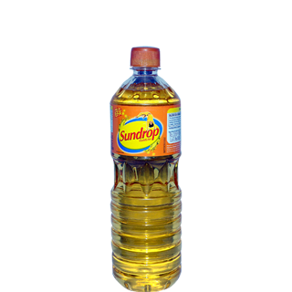 Sundrop Goldlite Vegetable Oil Bottle
