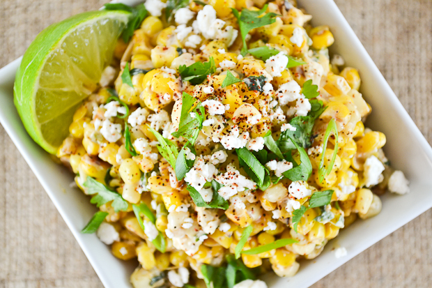 Sweet Corn Mexican
