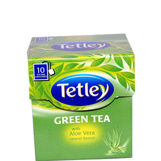 Tetley Green Tea With Aloe Vera