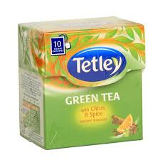 Tetley Green Tea With Citrus and Spice