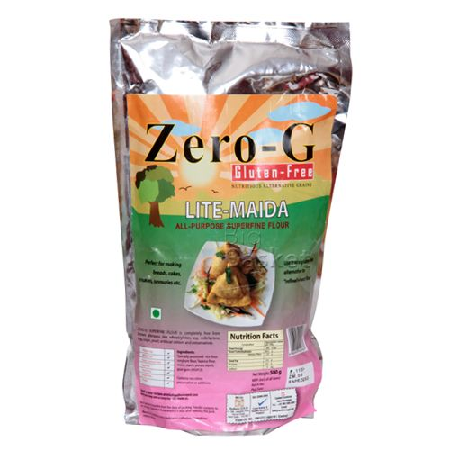 Zero G Lite Maida All Purpose Superfine Flour Gluten Free Nutritious Alternatives
