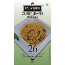 Just A Minute Curry Leaves Rice Mix