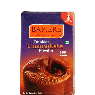 bakers drinking chocolate powder