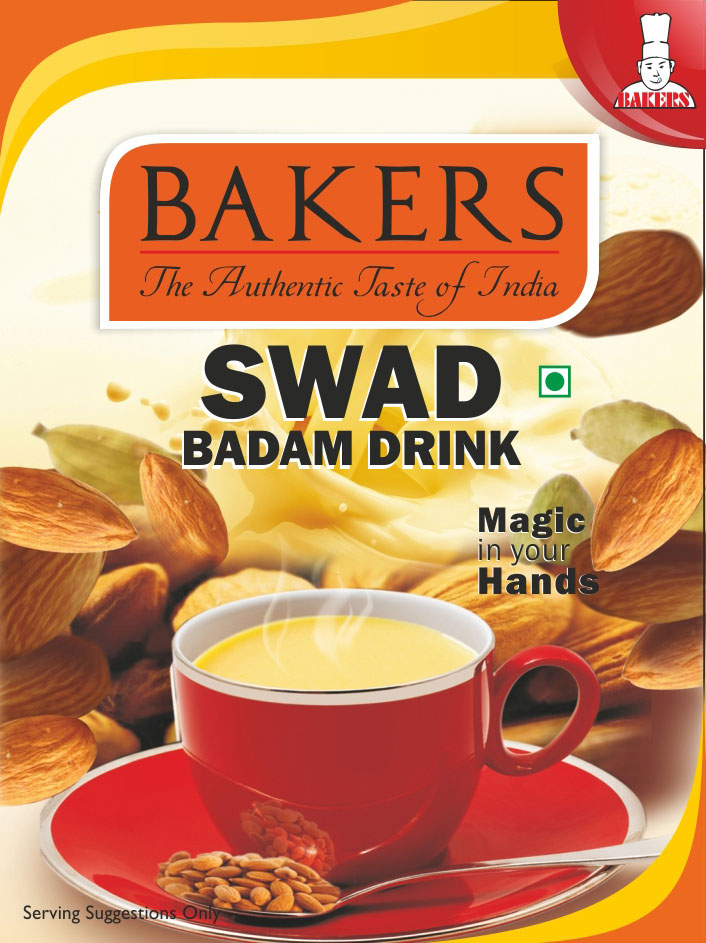 bakers swad badam drink