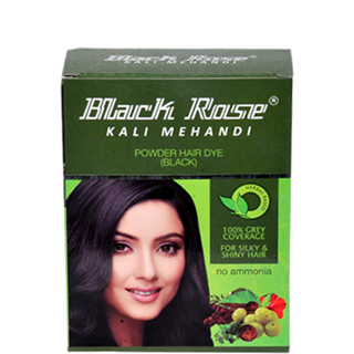 Black Rose Kali Mehandi Black No Ammonia Hair Colour