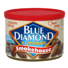blue diamond almonds smokehouse 150gms Tin