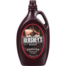 hershys syrup genuine chocolate flavor
