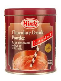 Hintz Chocolate Drink Powder
