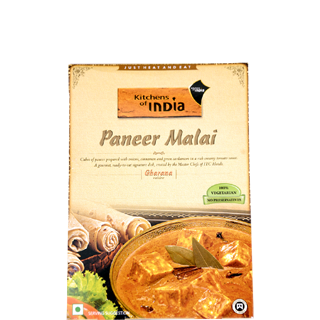 Kitchens Of India Paneer Malai Ready To Cook Meal