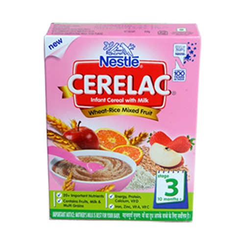 Nestle Cerelac  Wheat Rice Mixed Fruit Stage 3