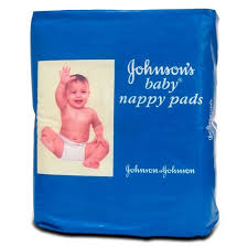 Johnson and Johnson Baby 10 Nappy Pads