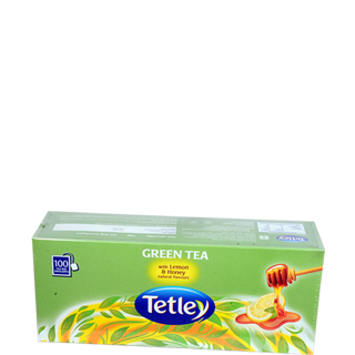 Tetley Green Tea with Lemon and Honey